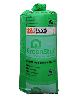 R2.9 GreenStuf Ceiling Pads - 6.82m2/pack
