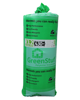 R3.2 GreenStuf Ceiling Pads - 6.82m2/pack