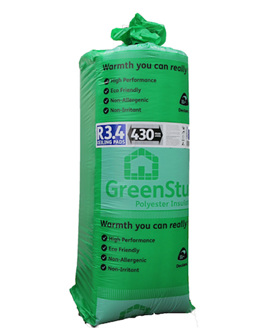 R3.4 GreenStuf Ceiling Pads - 5.25m2/pack
