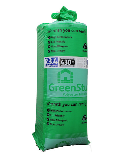 R3 4 Greenstuf Ceiling Pads 5 25m2 Pack Elite Insulation
