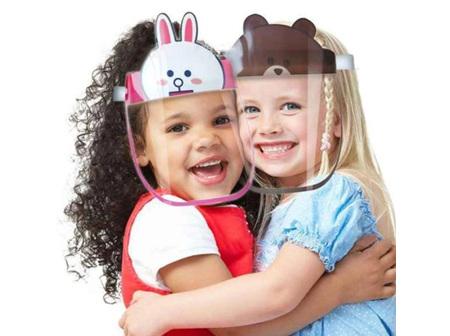 Rabbit Faceshield for Kids
