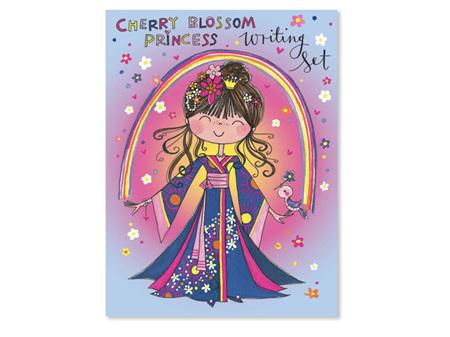 Rachel Ellen Cherry Blossom Princess Writing Set