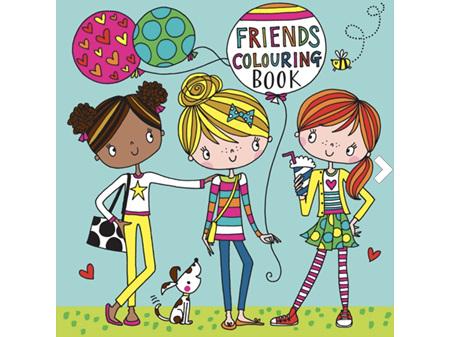Rachel Ellen Friends Colouring Book
