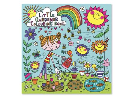 Rachel Ellen Little Gardener Colouring Book