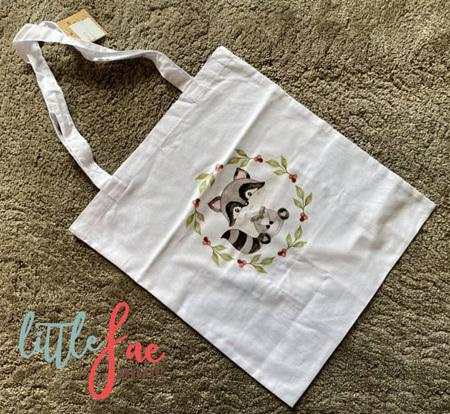 Racoon Tote Bag 2