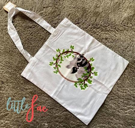 Racoon Tote Bag