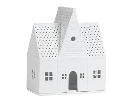 Rader Gingerbread House Large Porcelain Tealight House