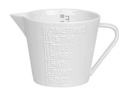 Rader It's the Little Things 700ml Porcelain Jug