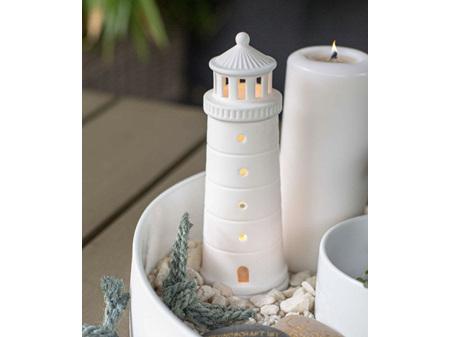 Rader Lighthouse Beyond the Sea Tealight Large