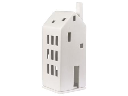 Rader Porcelain House with Large Door Tealight
