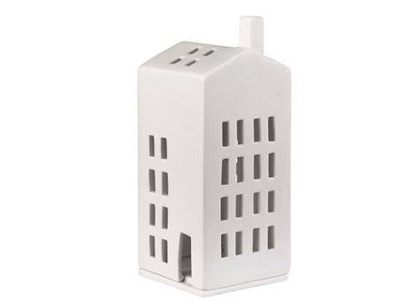Rader Porcelain House with Small Windows Tea Light