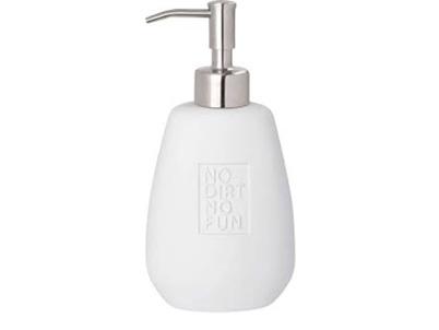 Rader Porcelain Soap Dispenser No Dirt No Fun