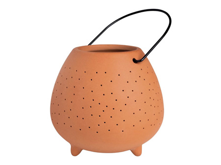 Rader Terracotta Outdoor Lantern Large