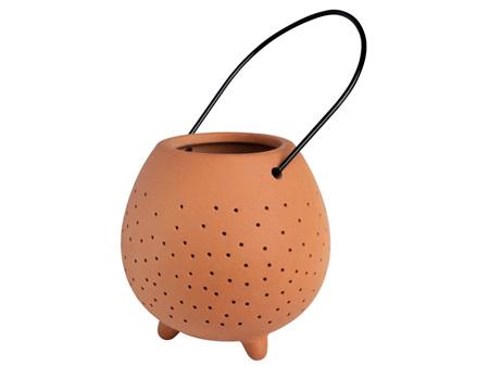 Rader Terracotta Outdoor Lantern Small