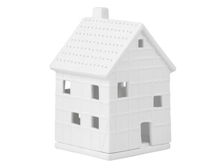 Rader Traditional Half-Timber House Porcelain Tea Light Small