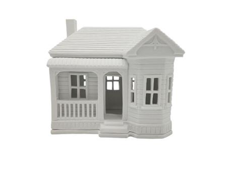 Rader Villa Porcelain Tealight House