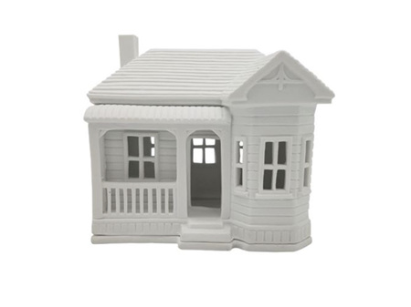 Rader Villa Porcelain Tealight House