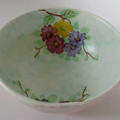 Small two handled dish