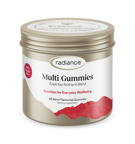 Radiance Adult Multi Vitamin GUMMIES 60