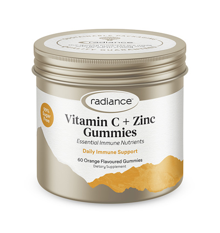 Radiance Adult Vitamin C and Zinc GUMMIES 60