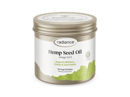 Radiance Hemp Seed Oil 90