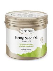 RADIANCE Hemp Seed Oil 90Caps