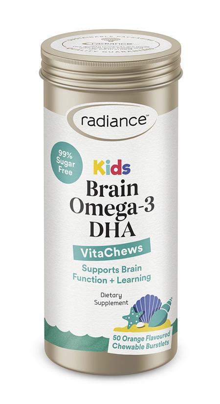 Radiance Kids Brain Omega 3 DHA 50