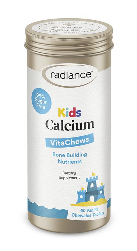 Radiance Kids Calcium Plus Vit D3 GUMMIES 60