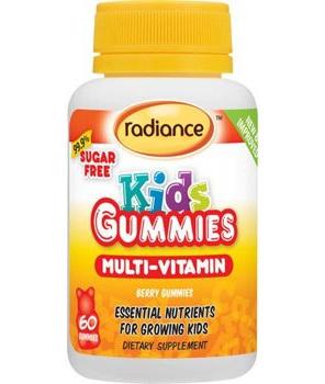 Radiance Kids Gummies Multivitamin 60s