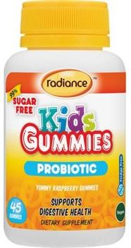 Radiance Kids Gummies Probiotic 45s