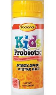 Radiance Kids Probiotic - 45 chewable tablets