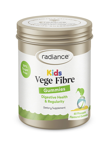 Radiance Kids Vege Fibre GUMMIES 60