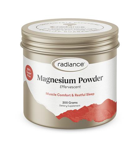 Radiance Magnesium Effervescent Powder 200g