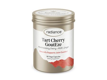 Radiance Tart Cherry GoutEze 90