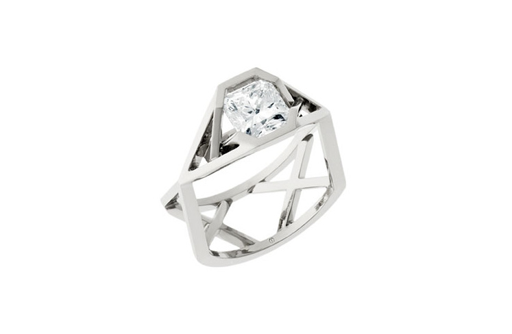 Radiant Diamond Ring