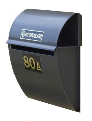 Radius Letterbox