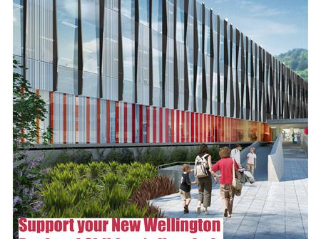 Raffle ticket for New Wellington Regional Children's Hospital