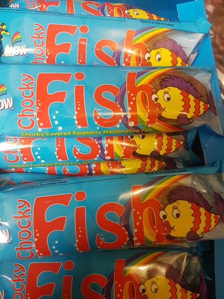 Rainbow big fish raspberry 20 x  50g