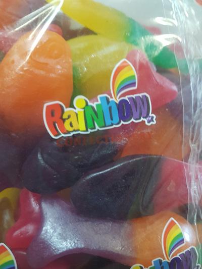 Rainbow colourful fish - 1 kg