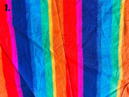 Rainbow Fabric Tones Lot 1
