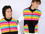 Rainbow Fleece Jacket