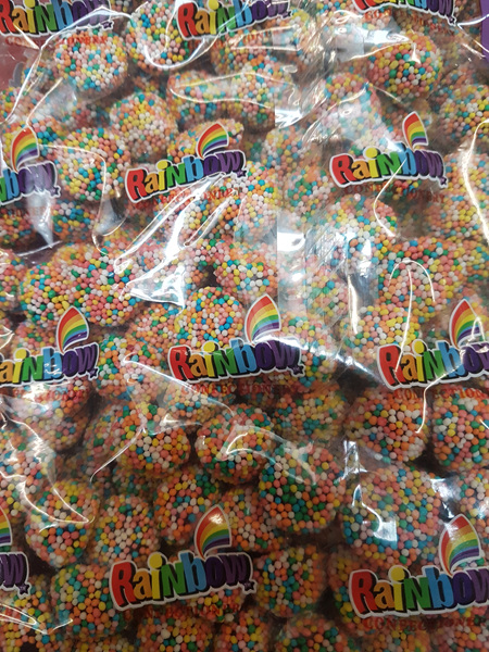 Rainbow licorice delights - 1 kg.