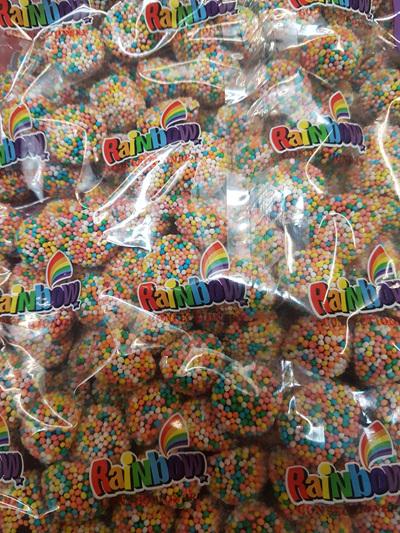 Rainbow licorice delights - 1 kg.