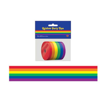 Rainbow party tape