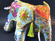 Raj the Elephant bead embroidery kit