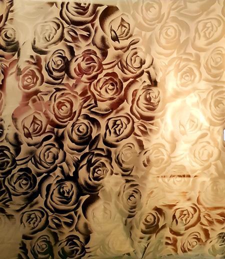 Ramsey Rose Gold Foil