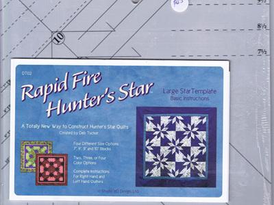 Rapid Fire Hunter's Star - Large