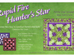 Rapid Fire Hunter's Star - Petite