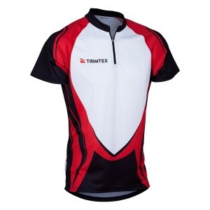 Rapid O-Shirt, Black / White / Red
