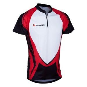 Rapid O-Shirt, Black / White / Red